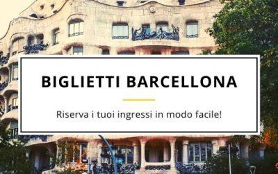 Biglietti Barcellona