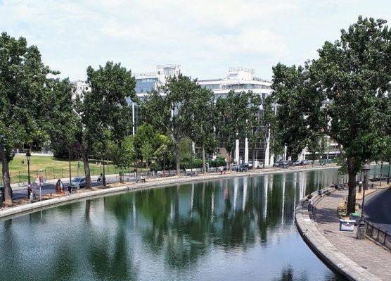 Il Canal Saint Martin di Parigi
