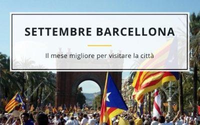 Settembre a Barcellona